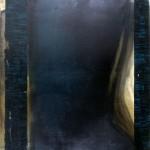 6-Deslizada en azul prusia.170 x 150.